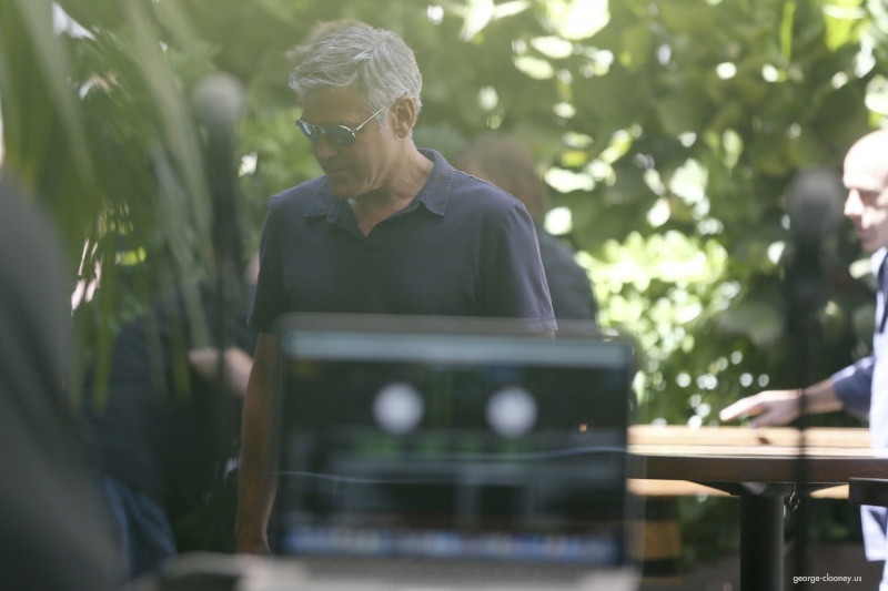 George Clooney & Amal Alamuddin Celebrate Their Engagement Surrounded By Celebrity Friends! - Page 3 00232210