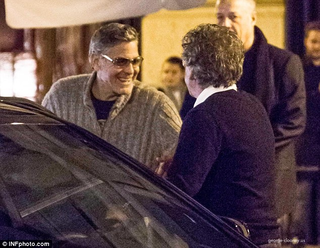 George and Amal picture few month ago? 11110