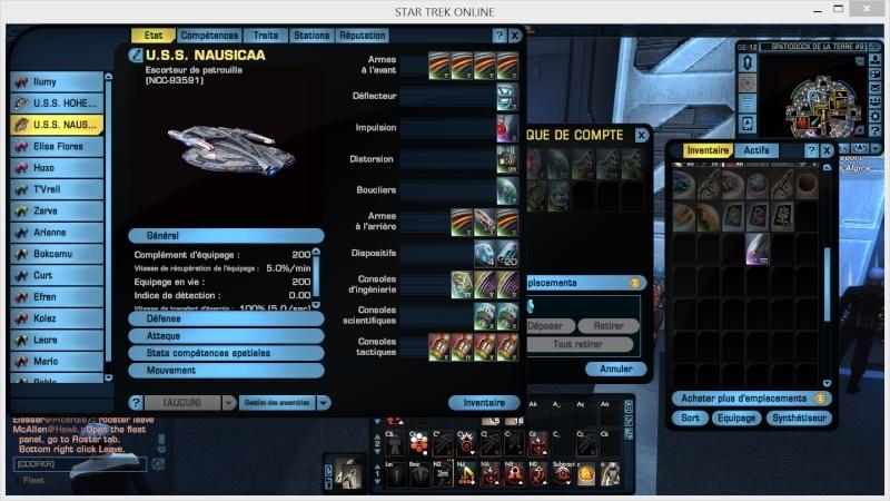tactique - kit fed tactique lvl 40 escorteur  210