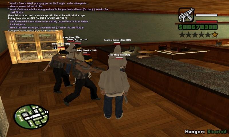 Bank Robbery Sa-mp-15