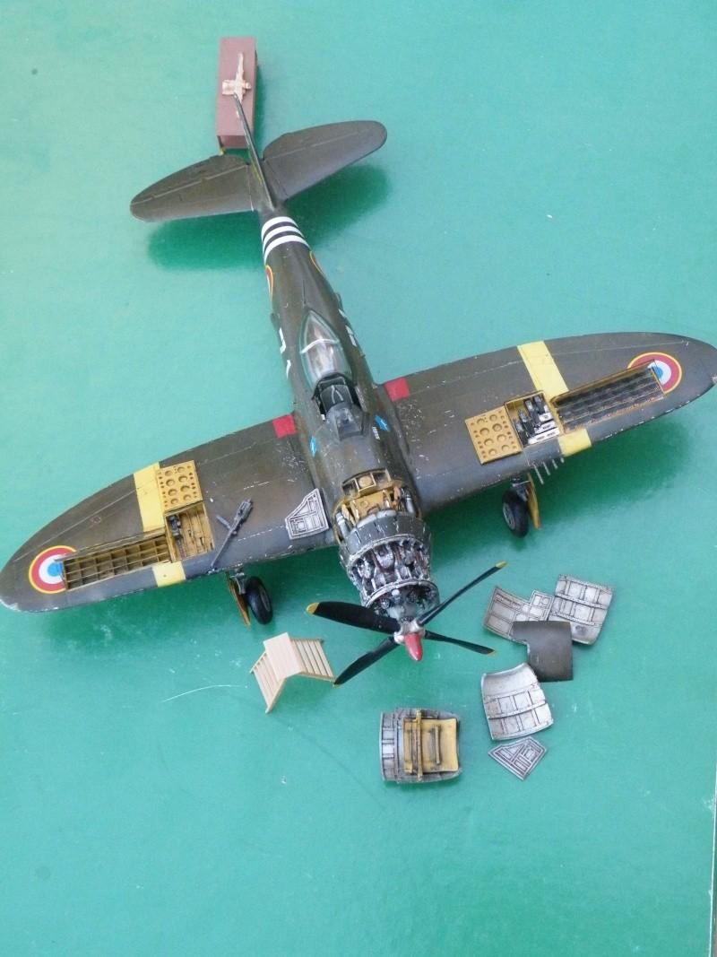 P 47D ardennes en grande revision Dscf5210