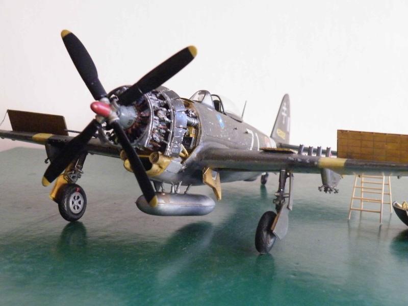 P 47D ardennes en grande revision Dscf5212