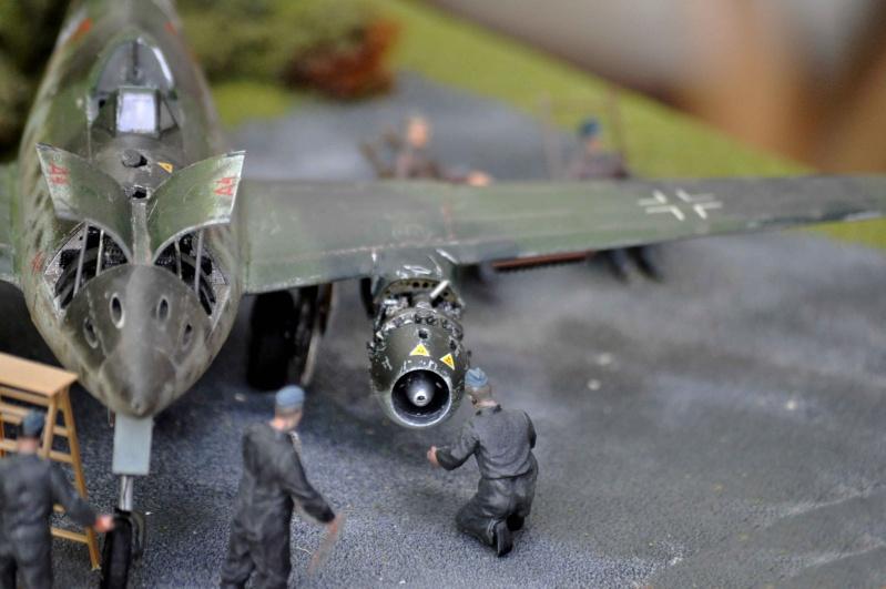 ME 262 equipage au repos, maintenance 1/48 Tamigawa  Nikon_74