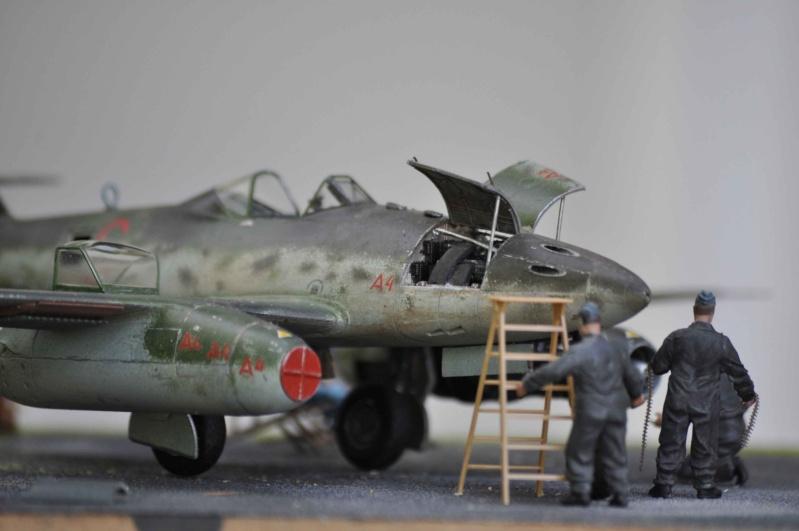 ME 262 equipage au repos, maintenance 1/48 Tamigawa  Nikon_75