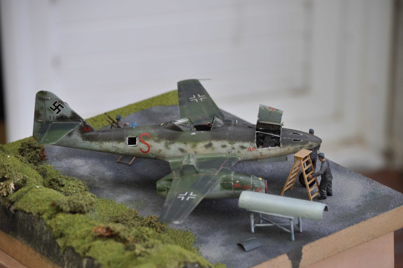 ME 262 equipage au repos, maintenance 1/48 Tamigawa  Nikon_76