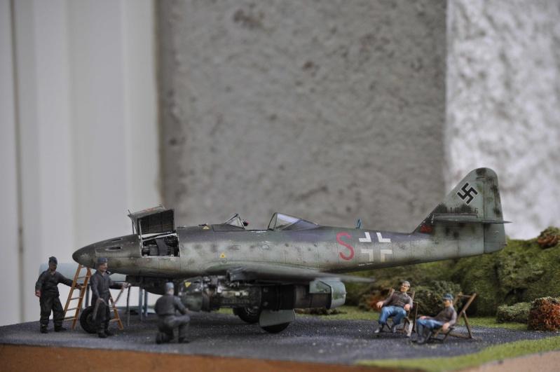 ME 262 equipage au repos, maintenance 1/48 Tamigawa  Nikon_78