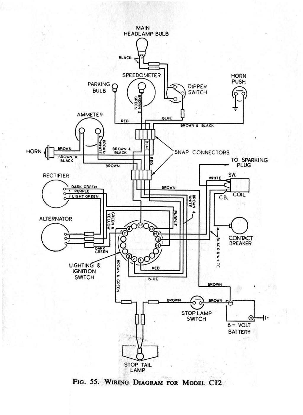 Faisceaux electrique C11 Schzom11
