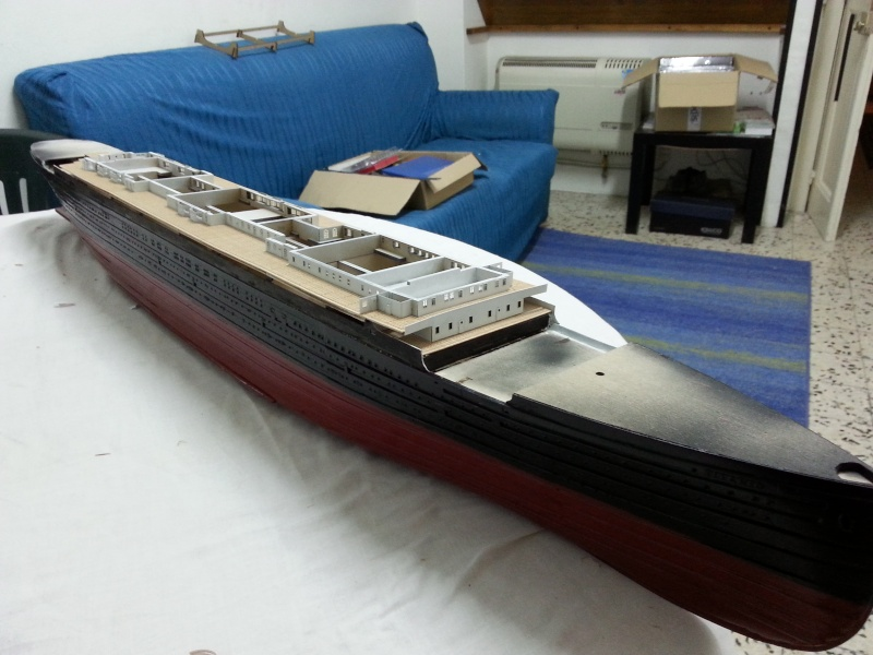 RMS Titanic - Hachette 20140312