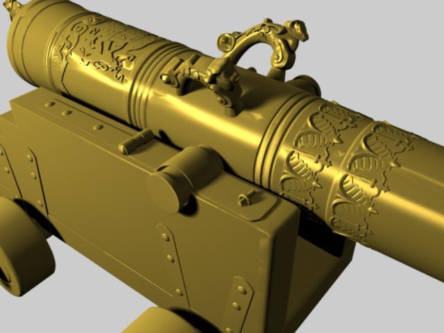 Vasa 1628 Cannon10