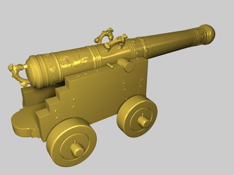 Vasa 1628 Cannon11