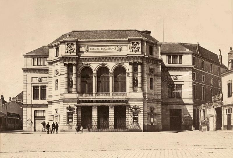 1912 - L'INCENDIE DU THEATRE RENAISSANCE Thaatr10