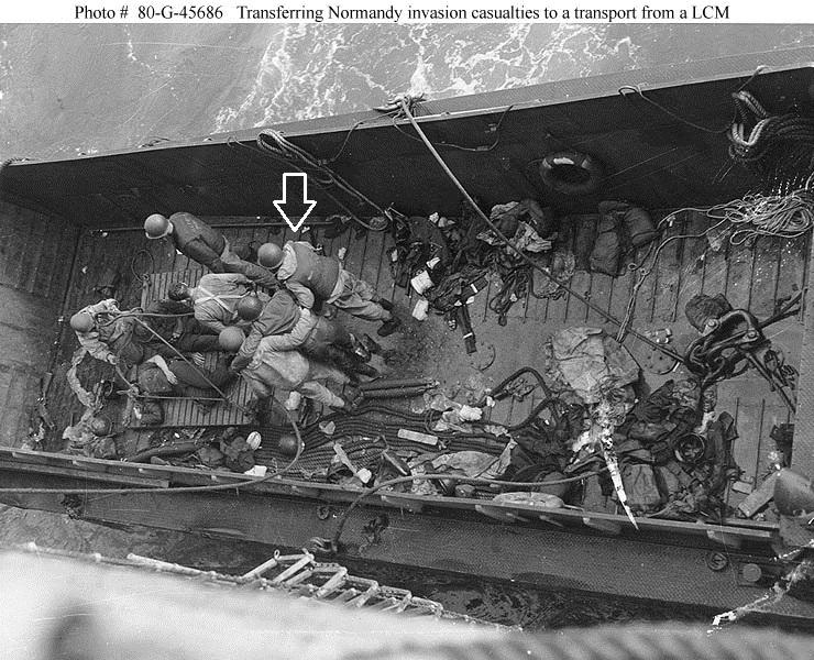 Pilote barge de débarquement 6 juin 44 Equipa10