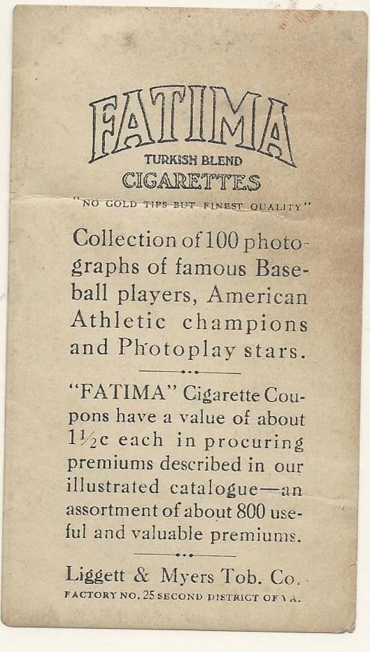 Images for 1915 Zeenut (1915) Williams (Claude) #136 Fletch13