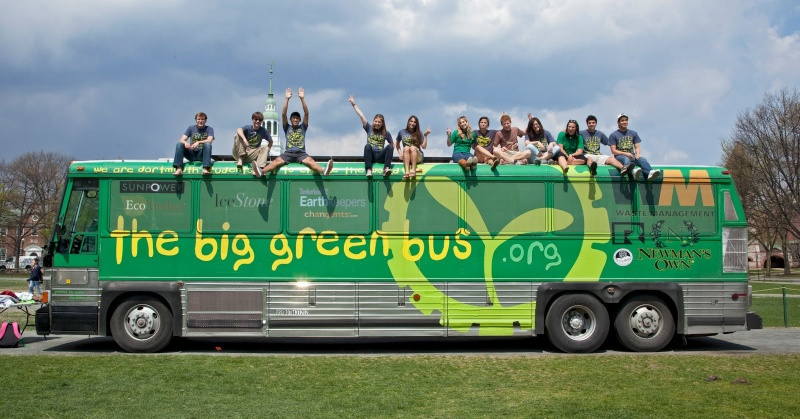 Big Green Bus - On The Road To Promote Sustainability Green_10