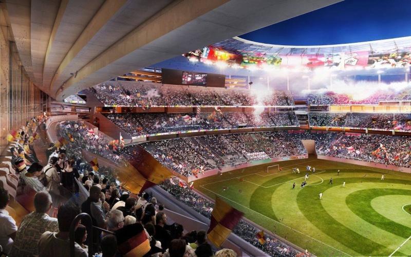 Notez le nouveau stade ! 17968510