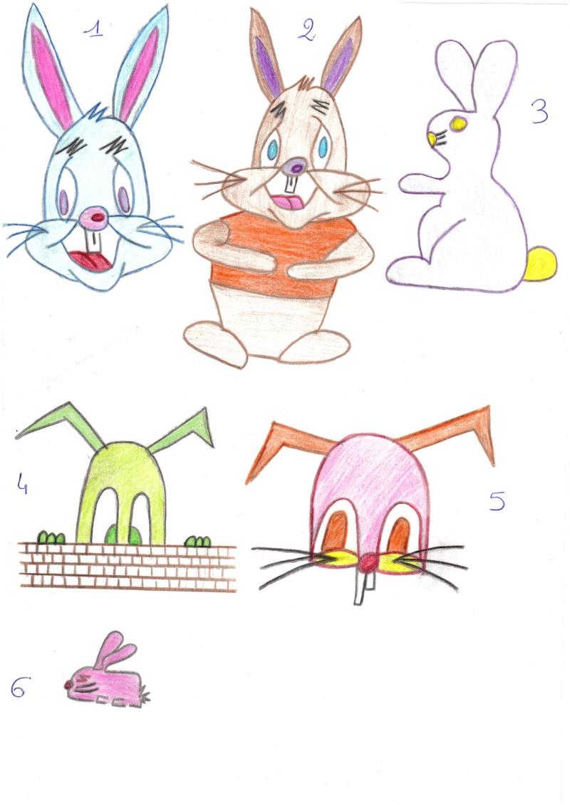 Mes essais dans le dessin ...  2014-015