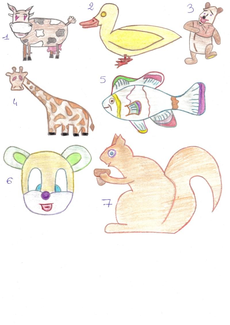 Mes essais dans le dessin ...  2014-016