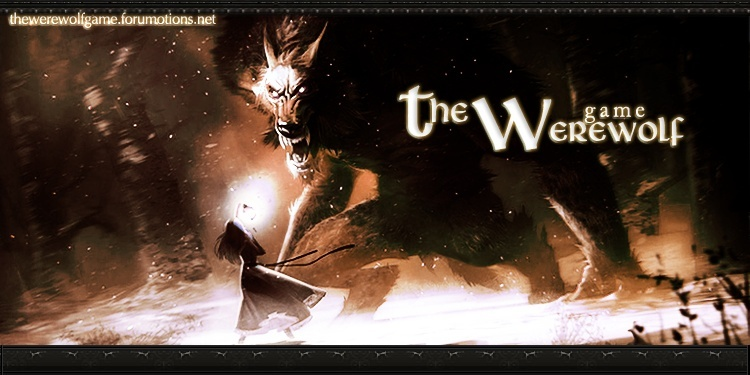The Werewolf Game