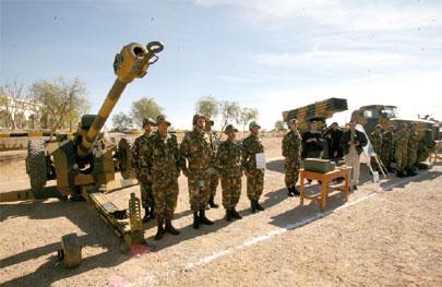 Artillerie de campagne - EAAC Boussaâda Actual10