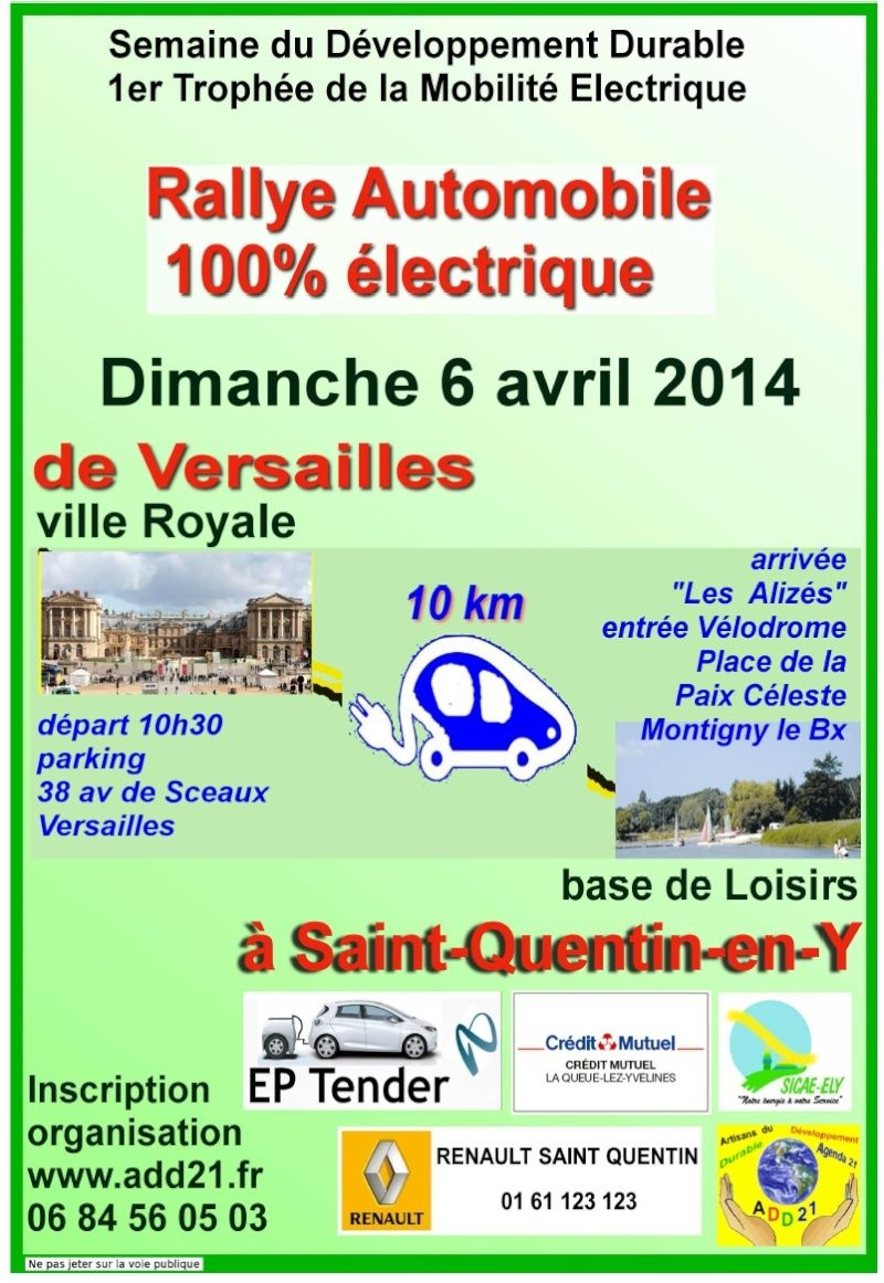 78-Versailles Rallye 100% electrique Affich10