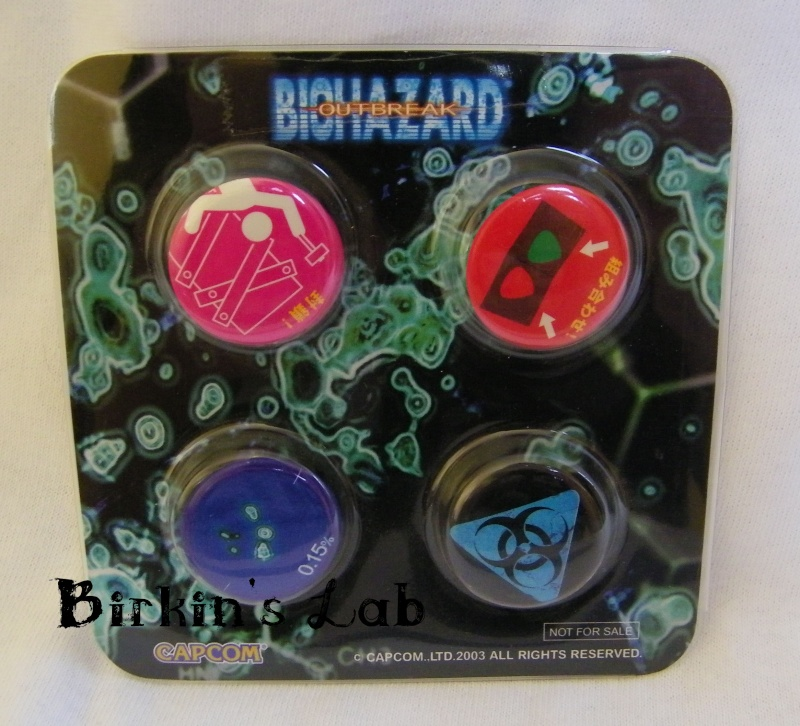 Biohazard (Resident Evil): Les NOT FOR SALE Badges10