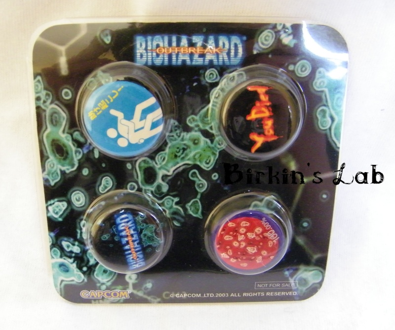 Biohazard (Resident Evil): Les NOT FOR SALE Badges11
