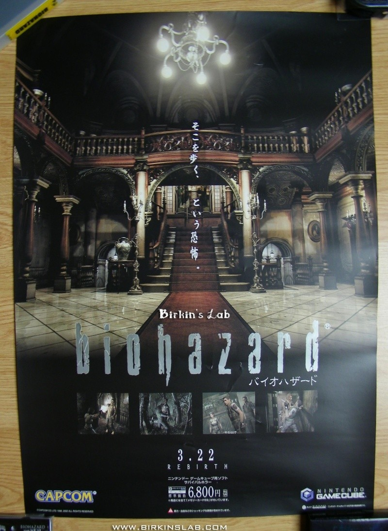 Ma collection Resident Evil/Biohazard Poster10
