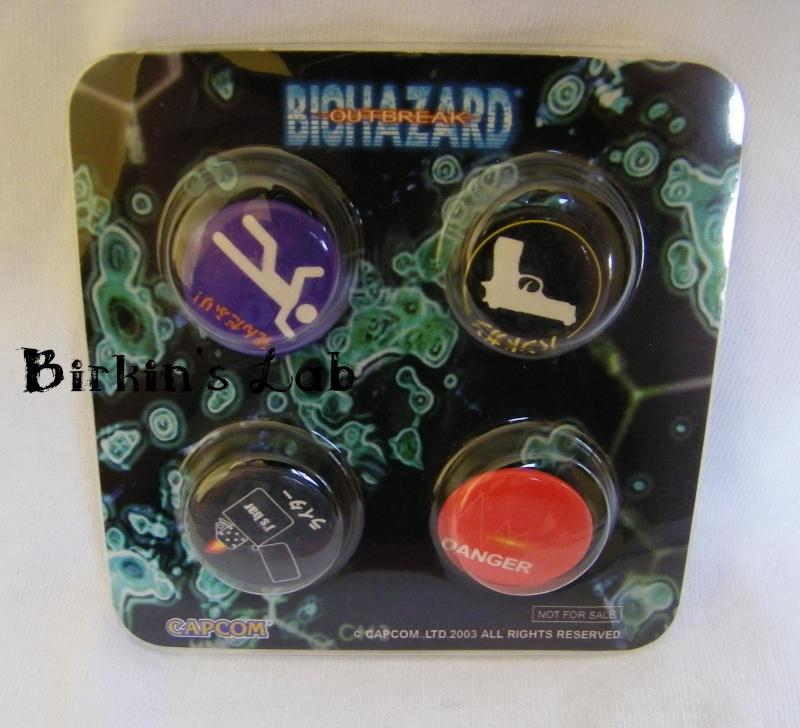 Biohazard (Resident Evil): Les NOT FOR SALE Setbad11