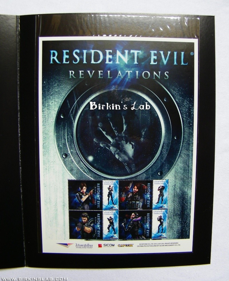Ma collection Resident Evil/Biohazard Timbre10