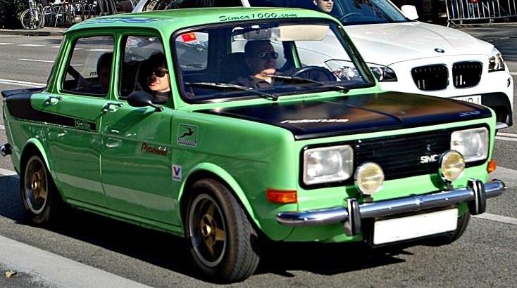Simca LS Replica Rallye y un Simca 1000 GL Simca110