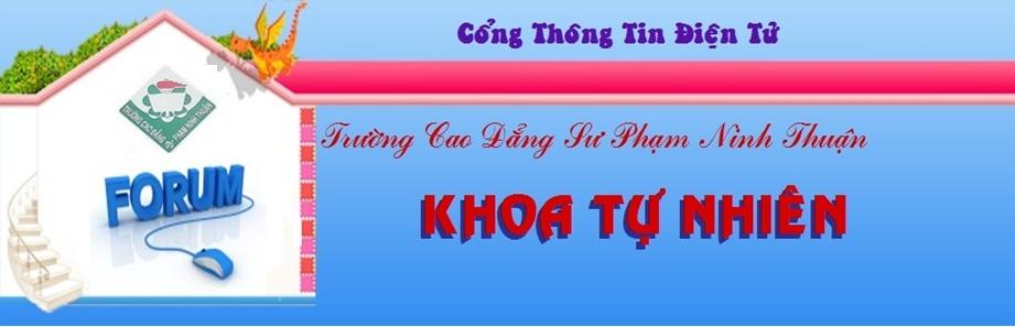 Khoa Tự nhiên - CĐSP Ninh Thuận