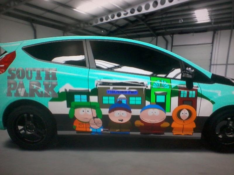 Mes créations Soniciène (et autres) sur Forza motorsport 2014-016