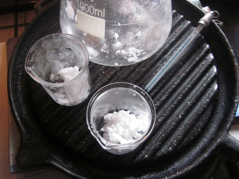 Reproduction of the NaHCO3 method (ff ff method) with Celtic Sea Salt to obtain pure m-state material 26a-ff10