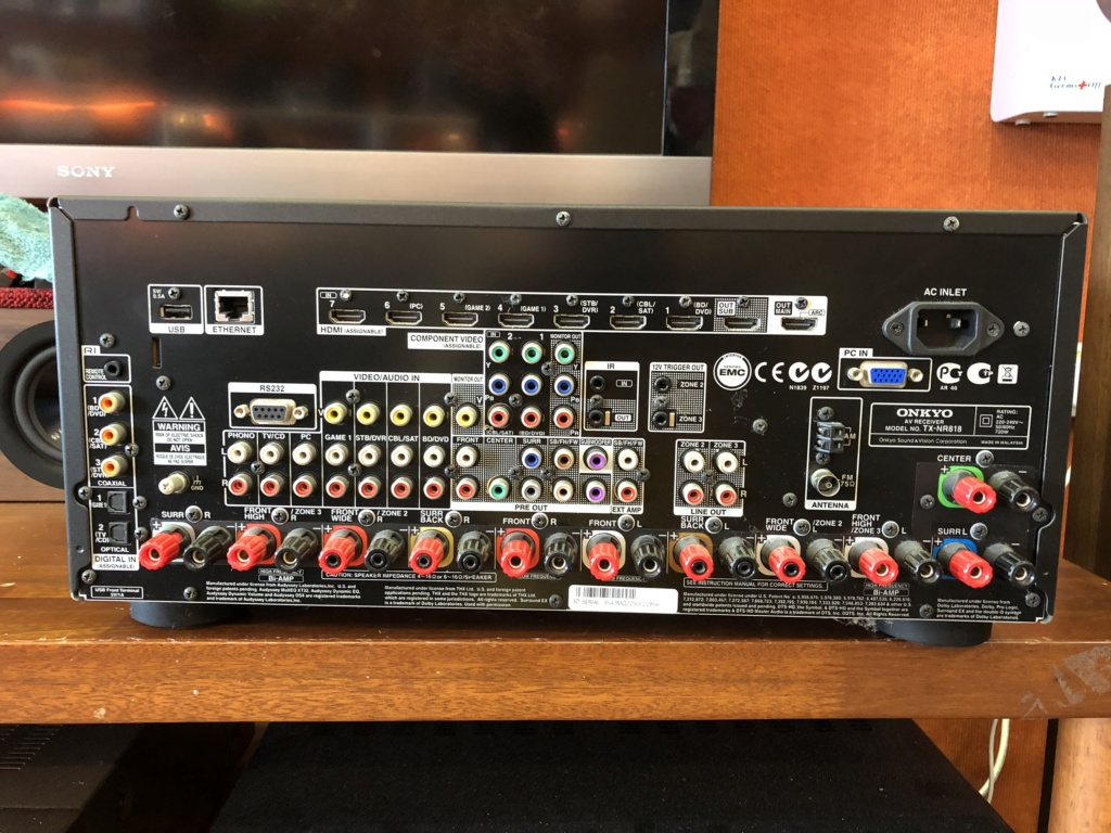 Onkyo Tx-Nr 818 High Power AV Receiver (Used) Image212