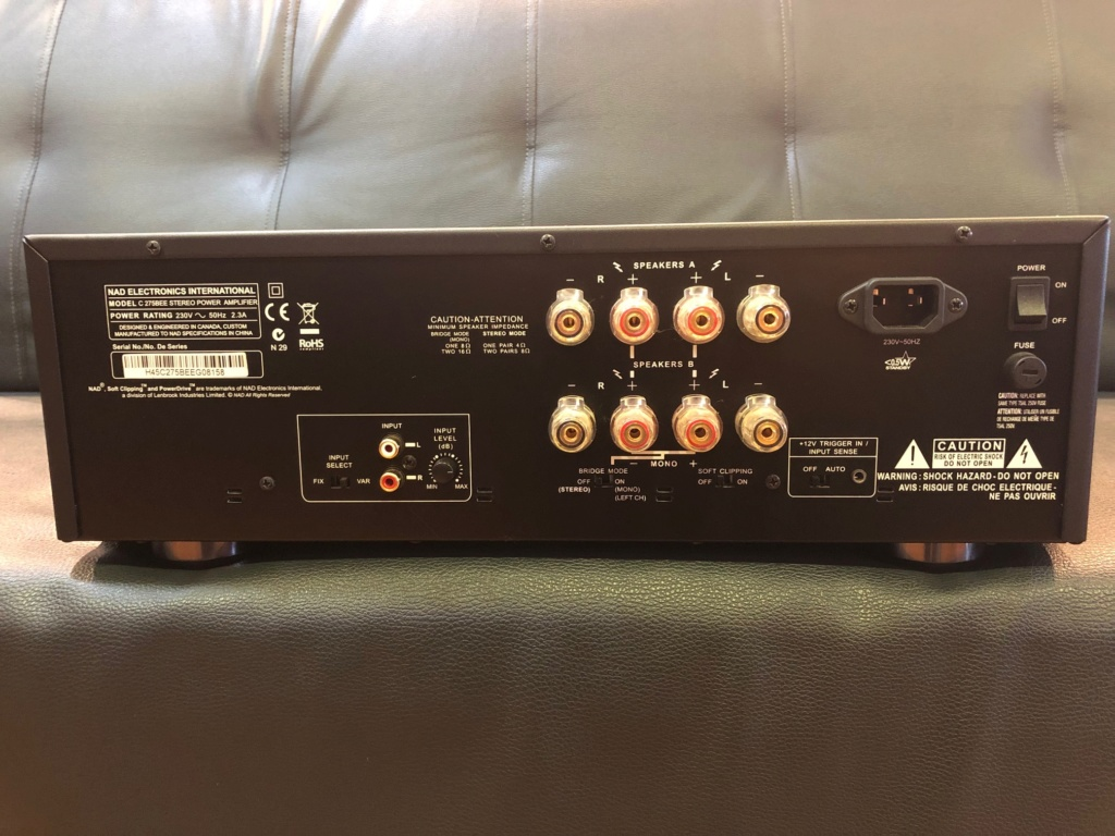 NAD Stereo Power Amplifier (USED) Image315