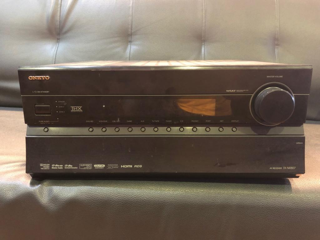 Onkyo TX-NR807 7 Channel  AV Receiver (Used) Image412