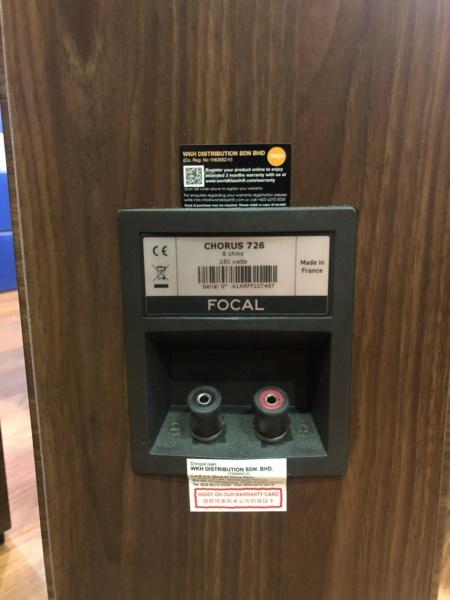 Focal Floor standing Speaker (Used) Img_0611