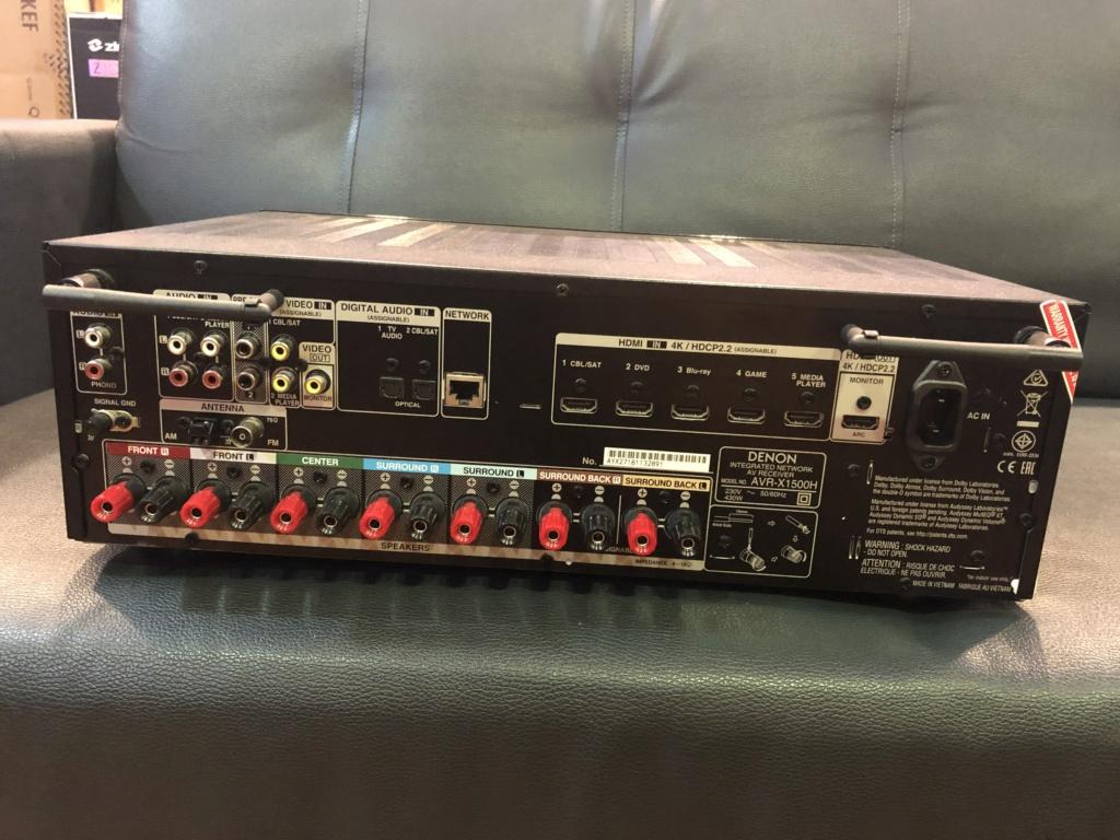Denon Atmos Receiver  (Used) Img_0624
