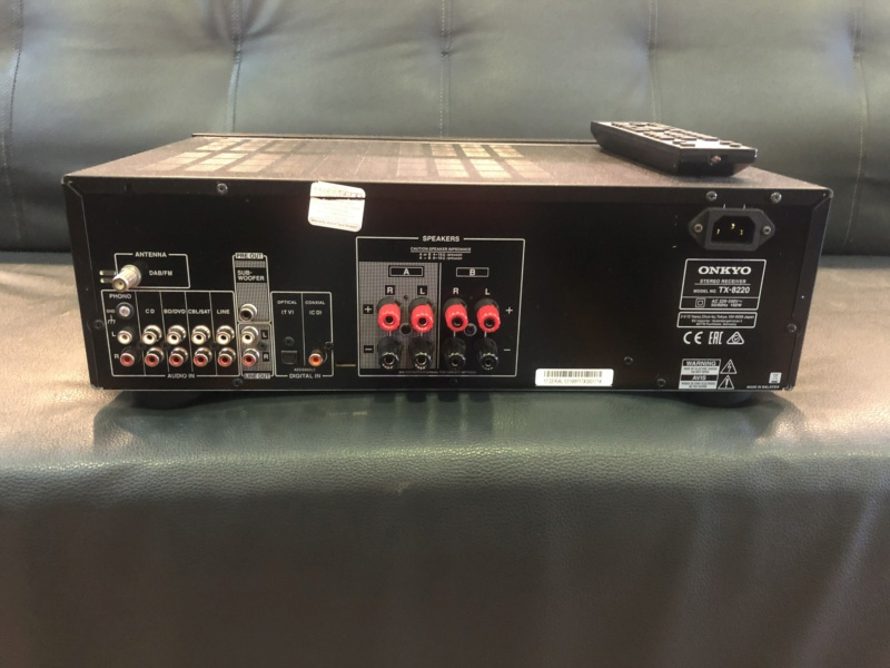 Onkyo TX 8220 Stereo Receiver (Used) Img_0811
