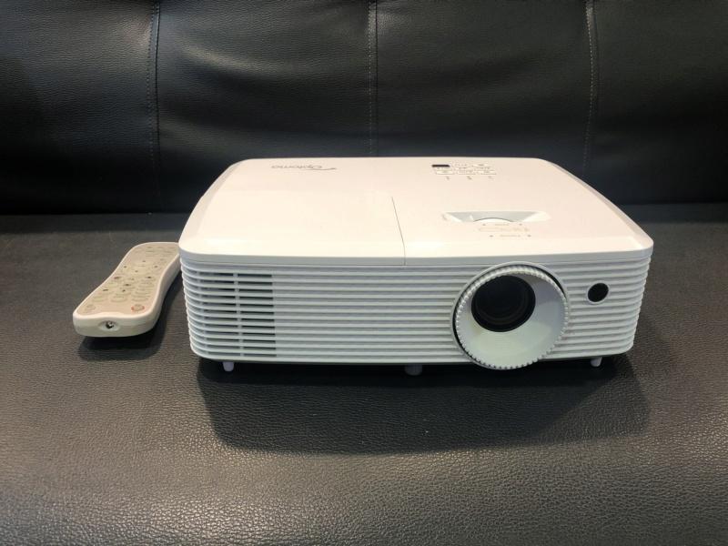 Optoma HD27 Projector (used) Img_1912