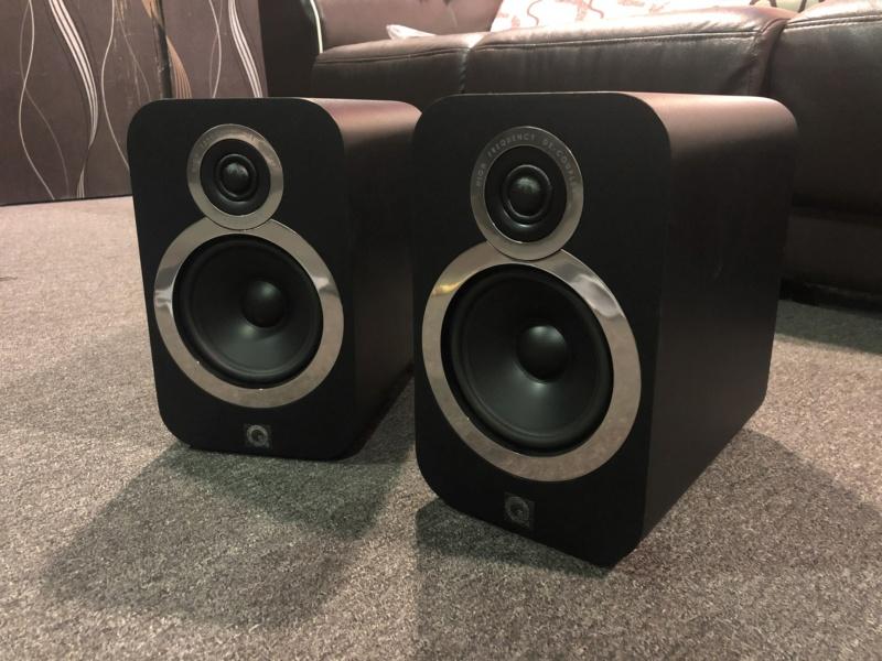 Q Acoustics Bookshelf Speaker (Sold) Img_3419