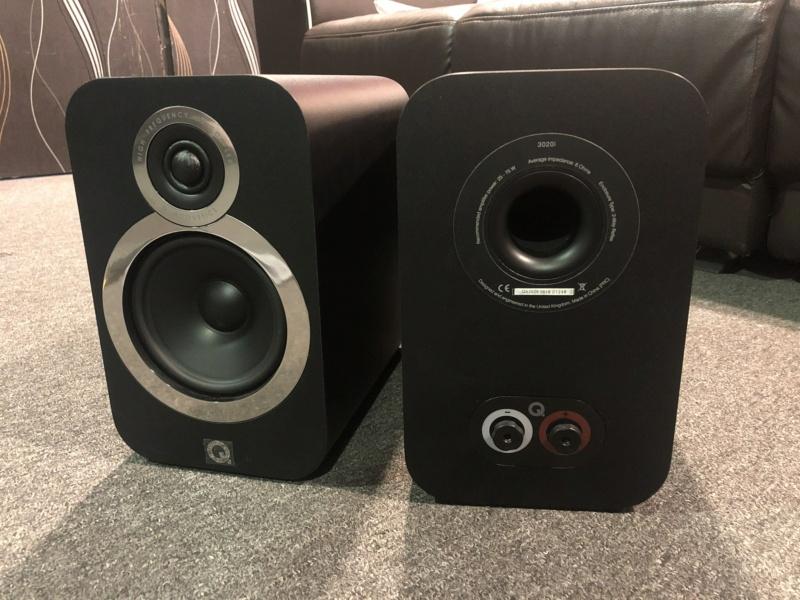 Q Acoustics Bookshelf Speaker (Sold) Img_3420