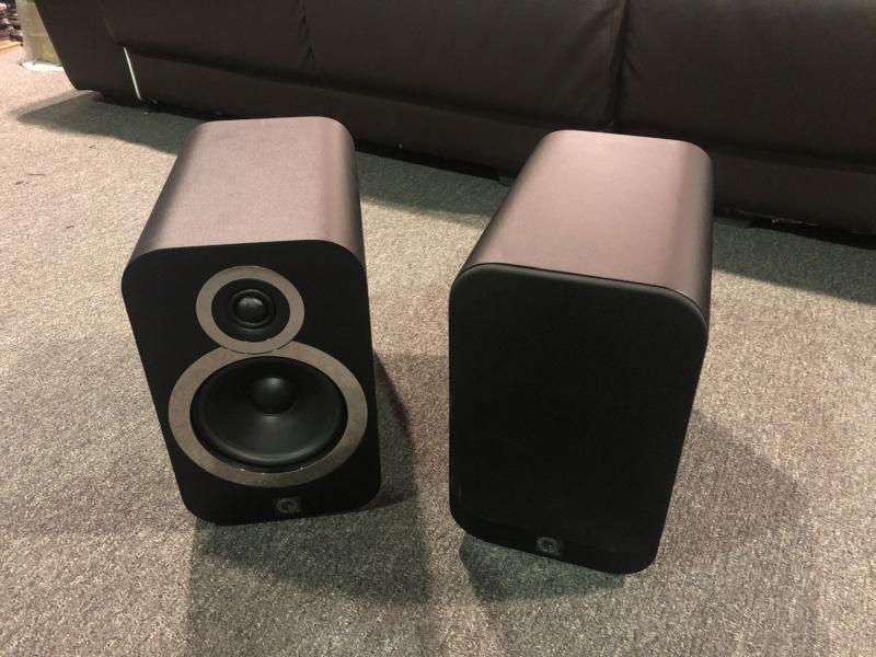 Q Acoustics Bookshelf Speaker (Sold) Img_3421