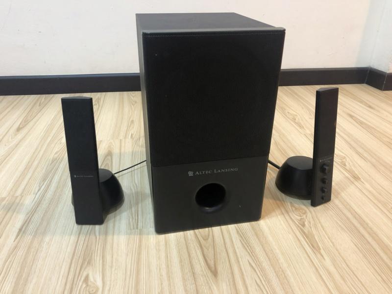 Altec Lansing 2.1 CH Speaker System (Used) Img_3422