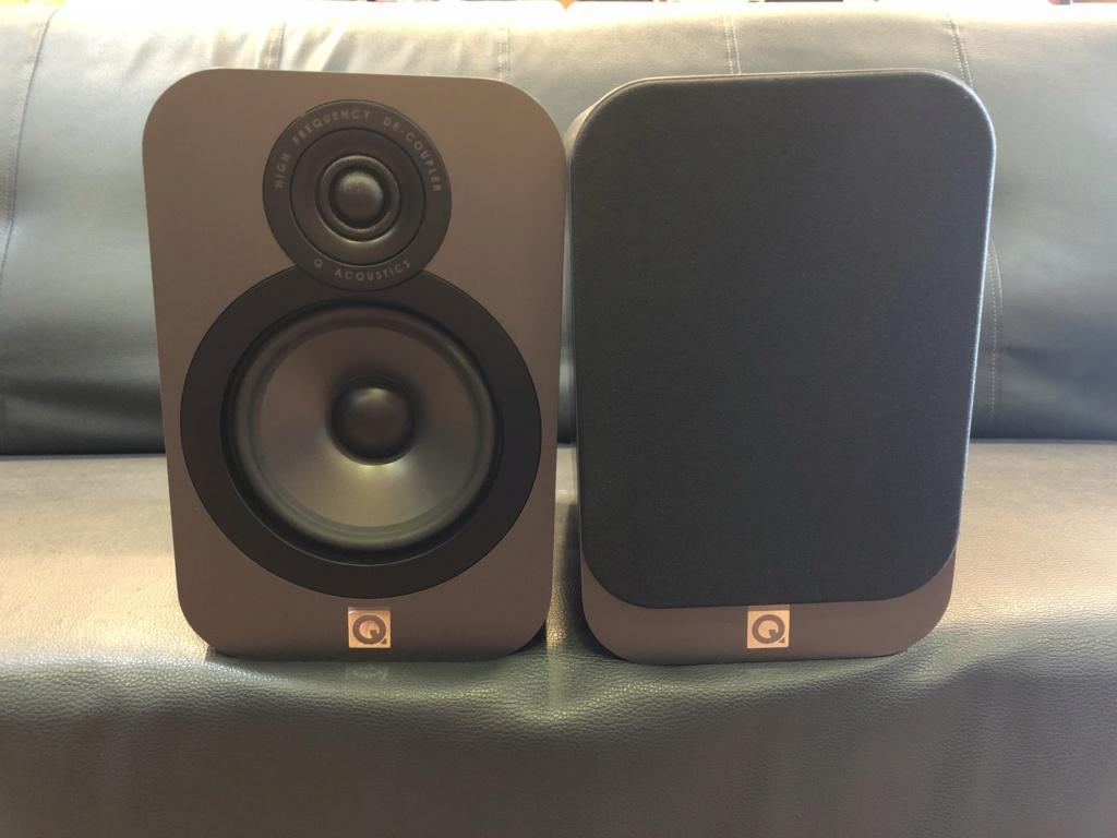 Q Acoustics 3020 Bookshelf (Used) Img_3513