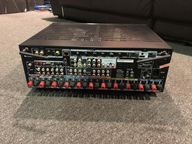 Denon AVR-X4300H AV Receiver (Used)  Img_3811