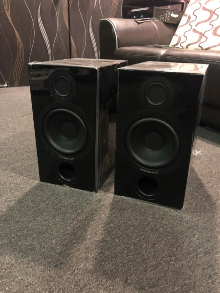 Cambridge Audio Aeromax 2 Bookshelf Speaker (Used) Img_3816