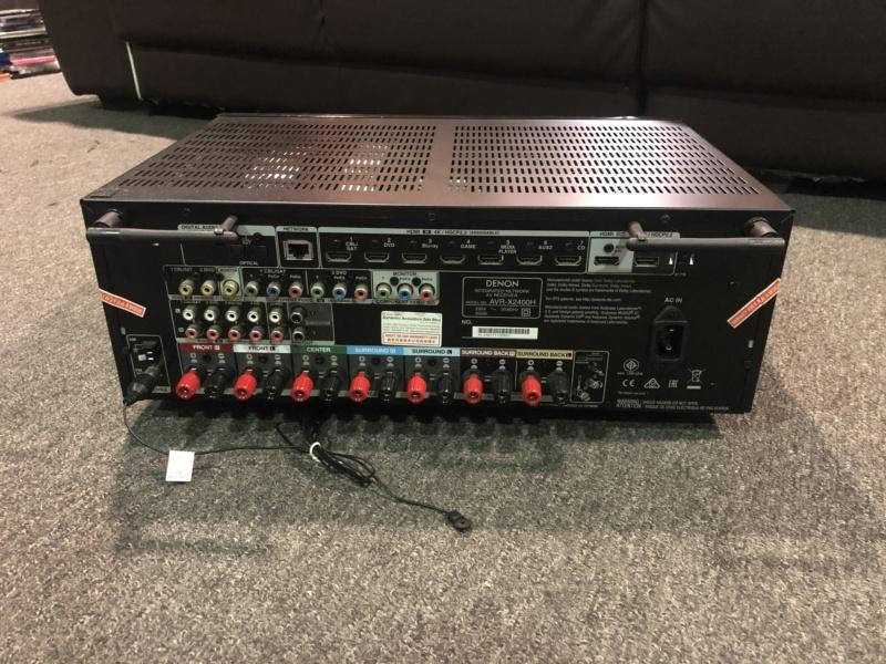 Denon AVR 2400H  AV Receiver (sold) Img_4212