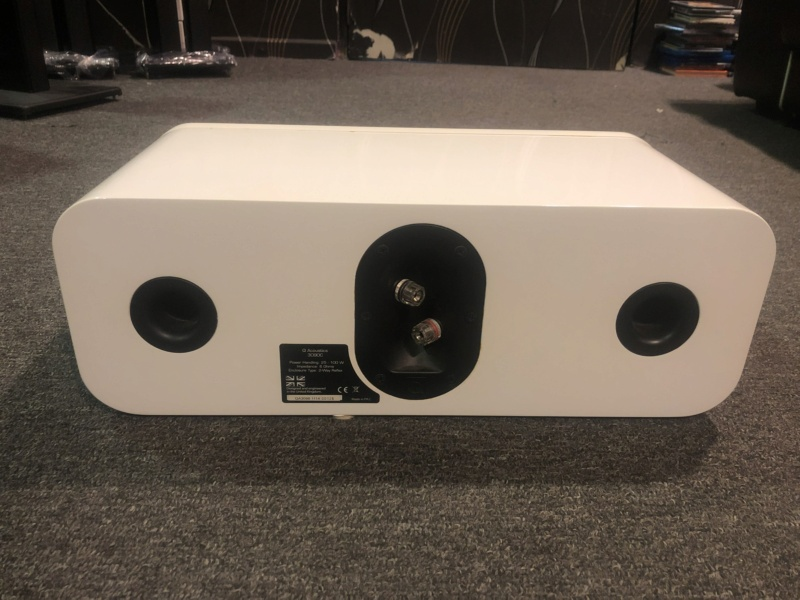 q acoustics Centre speaker (Used) Img_4610