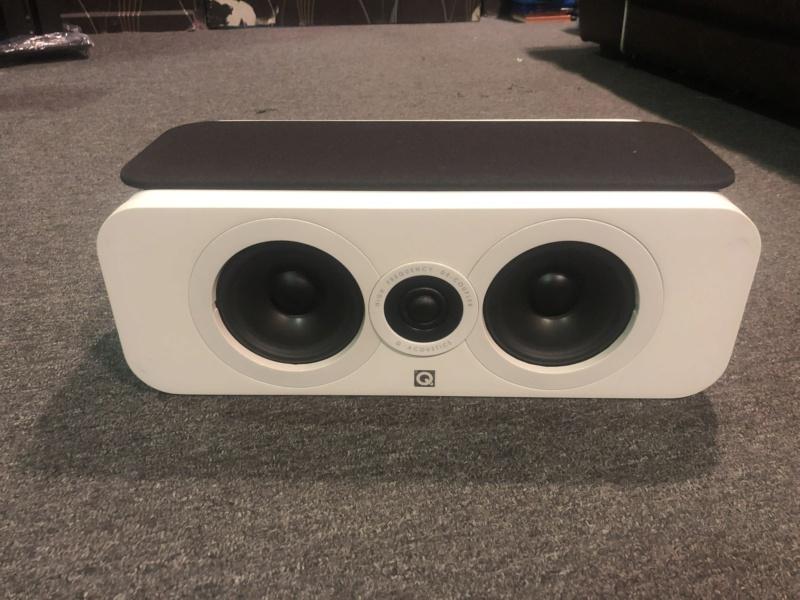 q acoustics Centre speaker (Used) Img_4611